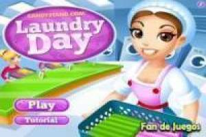 A day in the laundry