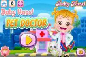 Baby Hazel: Have fun as a veterinarian