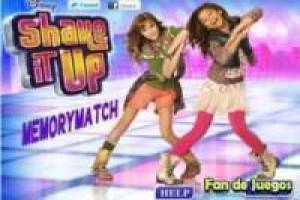 Memory match shake it up