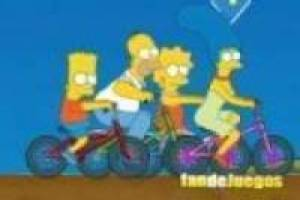 Simpsons: Bike Rally
