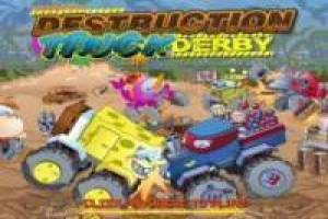 Destruction truck derby: Nickelodeon