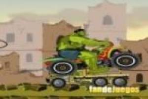 Hulk en quads destructor