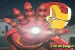 Iron man: apuntar y disparar