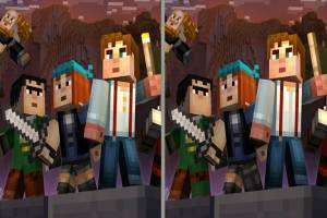 Minecraft: Spot the Differences