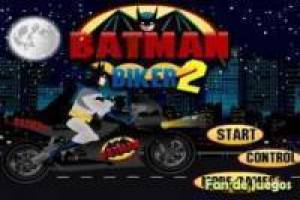 Batman sur le Batcycle