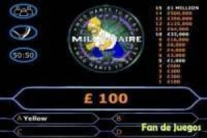 The simpsons: who wants to be a Millionaire ?, English