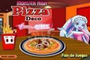 Juego Monster high: pizzas Gratis
