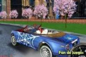 Derrapa con el carro de Spiderman