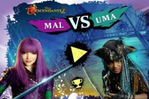 Descendants 2: Mal vs Uma