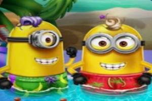 Minions Super-Sommer-Poolparty