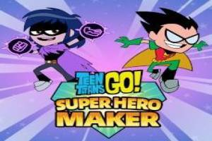 Teen Titans Go!: Super Hero Maker