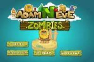 Adam and Eve: Zombie Cats