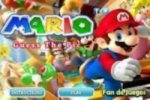 Free Super Mario guess the puzzles Game