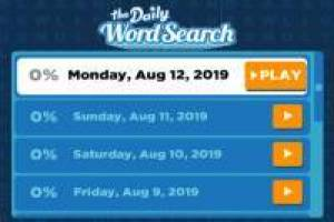 Find the daily words
