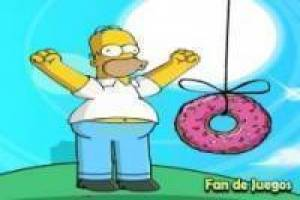 Throw homer simpson
