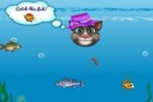 Talking tom pescando