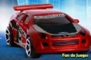 Coche de carrera hotweels