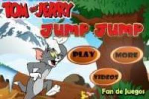 Tom and jerry: saltarín