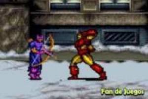 Iron man vs hawkeye: video