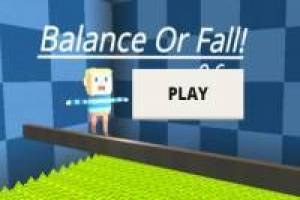 Balance or Fall en Kogama