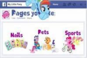 My Little Pony: Muro de Facebook
