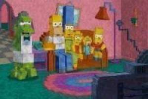 Simpson minecraft: Enigma