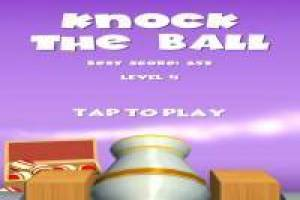 Reto de Puntería: Knock the Ball