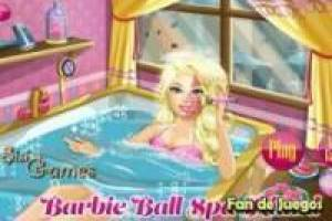 Barbie in de spa ritueel