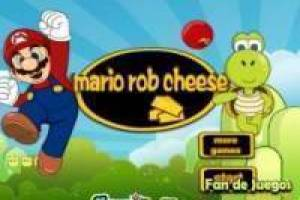 Super Mario steals cheese