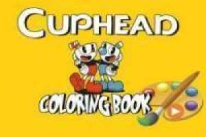 Coloring Cuphead and Mugman