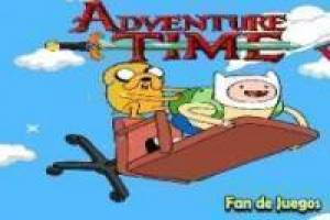 Adventure Time: salta nas nuvens