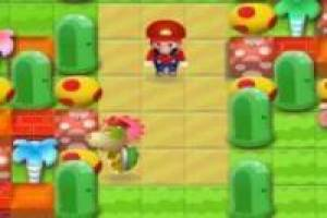 Super Mario in Bomberman 3d
