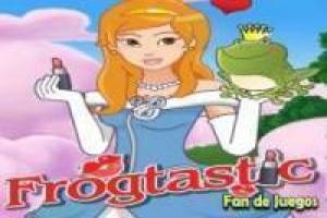 Free Magic kiss frog Game