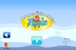 Angry Finches Angry Birds стиль