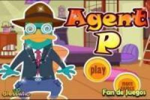 Free Dress up agent p Game