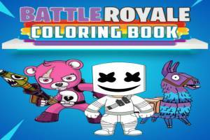 Battle Royale: Coloring Book