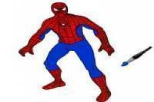Pintar Spiderman Online