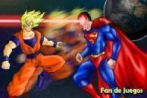 Goku vs Superman, animación