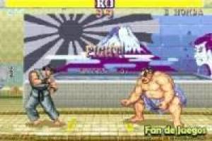 Juego Super street fighter 2 flash Gratis