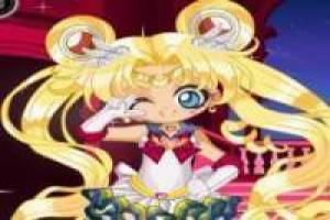 Chibiusa Sailor Moon-Dressing