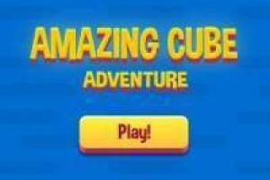 Amazing Cube Geometry Dash-Stil