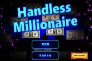 Millionaire but without hands