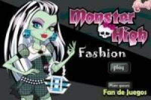Juego Monster high fashion Gratis