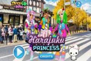 Disney Princesses: Harajuku Fashion