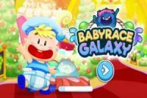 Baby race in the galaxy