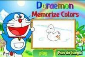 Doraemon lembrar as cores