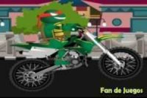 Ninja Turtles: rafael motocyclette