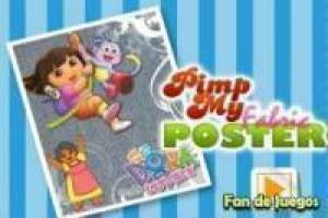 Free Create poster of Dora the Explorer Game