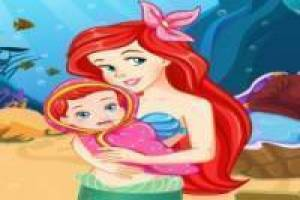 Schwangere little mermaid