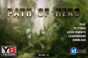 Path of the hero in war